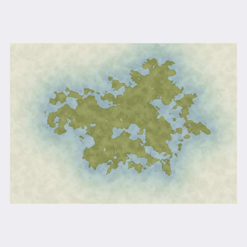 Unique fantasy map 0001