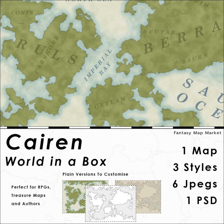 Cairen - World in a Box