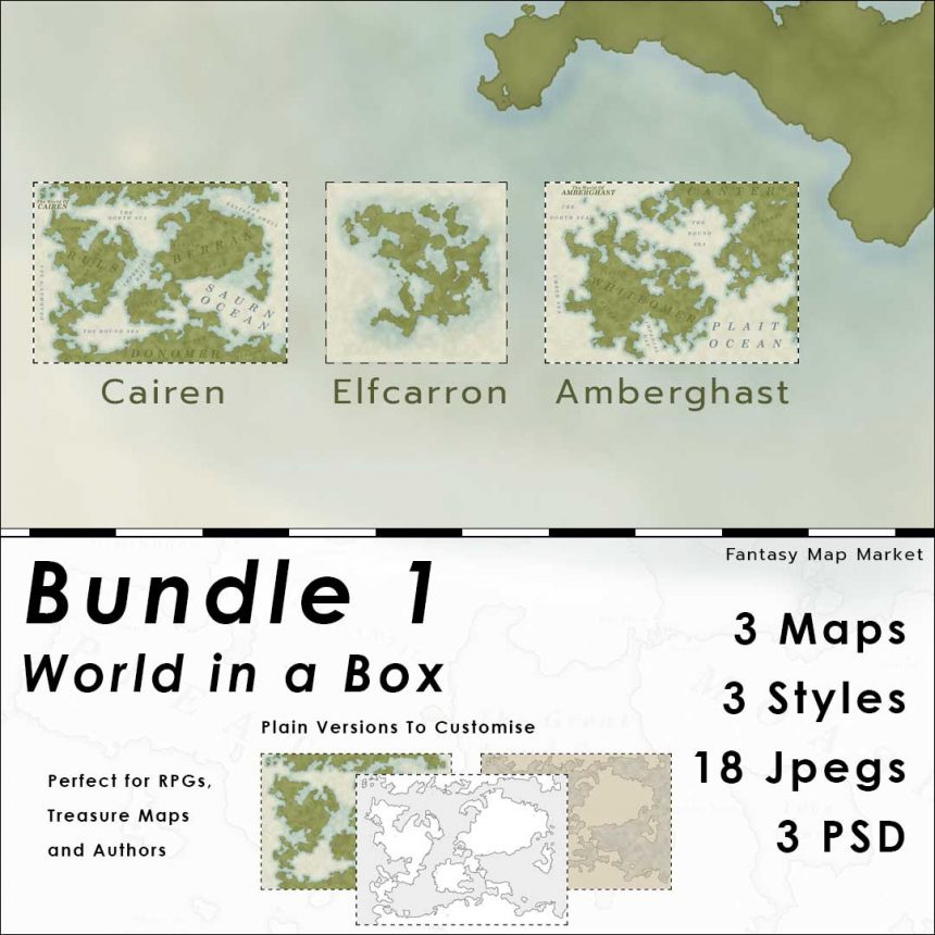 World in a Box - Bundle 1